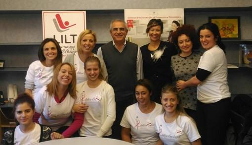 Chiara Viglianisi, Sara Onaici, Veronica Fittante, Sara Mangano e Noemi Bosio neo estetiste oncologiche professioniste