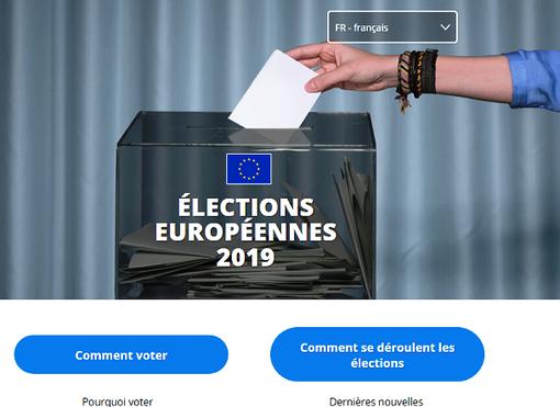 Il Parlamento europeo lancia un sito web sui risultati delle elezioni europee