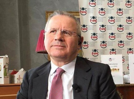 Lino Enrico Stoppani, presidente di Fipe - Confcommercio