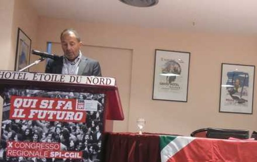 Domenico Falcomatà, Segretario Spi Cgil VdA