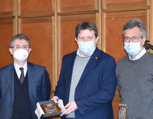 Pierapaolo D'Andria, Erik Lavevaz e Roberto Barmasse