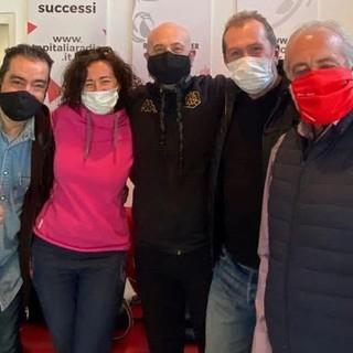 Da sn Luigi Macri, Nadia Muzzolon, Jean Claude Brunet, Massimiliano Glarey, Luca Garbarino