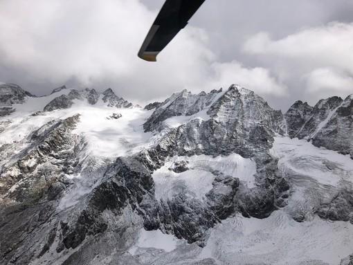 In salvo i due alpinisti bloccati sul ghiacciaio della Tribolazione