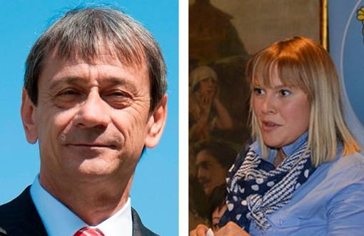 Bruno Giordano e Josette Borre