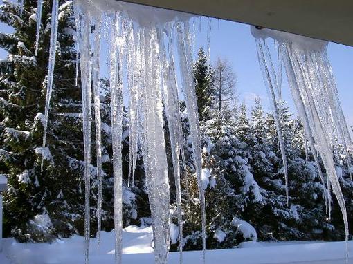 Gelo in Valle d'Aosta, temperature fino a -14 gradi