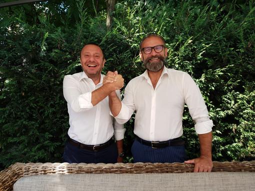 Giovanni Girardini (ds) e Andrea Balducci