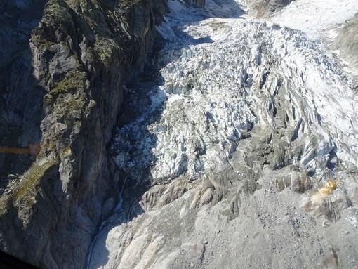 Crollo ghiacciaio: Preoccuazione dei tecnici per il rialzo termico