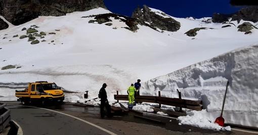Riaperto versante svizzero Colle Gran San Bernardo