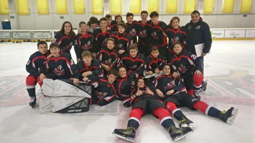 Hockey: U15; I Gladiators abbonati ai tre punti