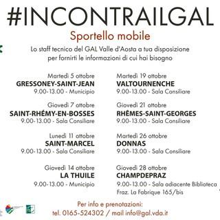 """Nasce sportello mobile #incontrailgal per supportare i beneficiari e non solo"""""""