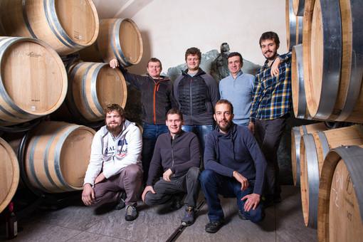 La famiglia Grosjean, viticoltori da diverse generazioni