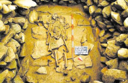 Il guerriero celtico rinvenuto nel cantiere dell'ospedale