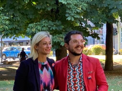 Chiara Giordano e Giulio Gasperini