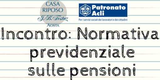 Al JB Fesyaz si parla di pensioni e reversibilità