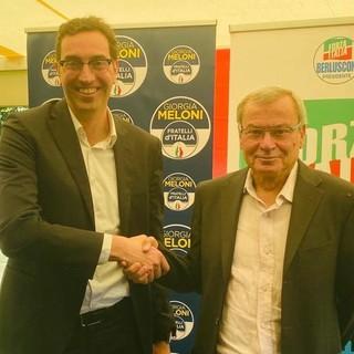 Paolo Laurencet (sn) e Renato Favre