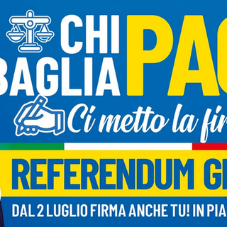 Domani gazebo della Lega ad Aosta e a Pont-Saint-Martin per raccolta firme referendum giustizia