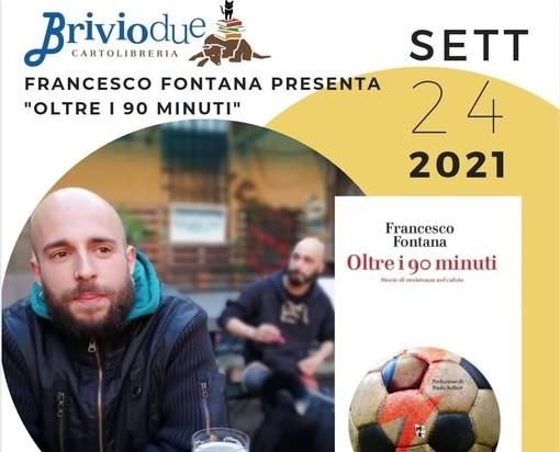 Alla libreria Brivio di Aosta Francesco Fontana presenta il suo libro su calcio e Resistenza