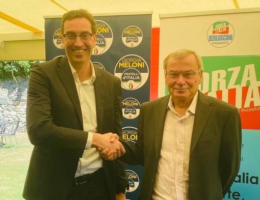 Paolo Laurencet e Renato Favre