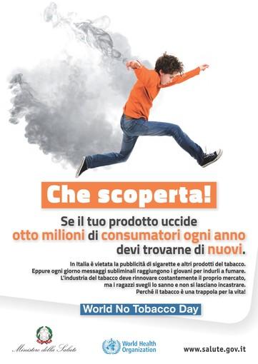 31 MAGGIO Giornata Mondiale Senza Tabacco