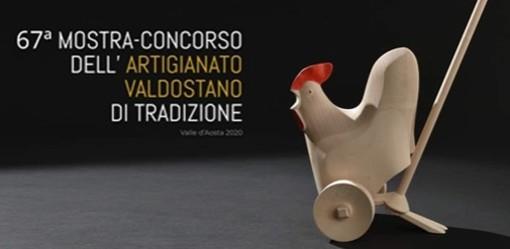 Inaugurata ma solo online la Mostra-concorso dell'artigianato valdostano