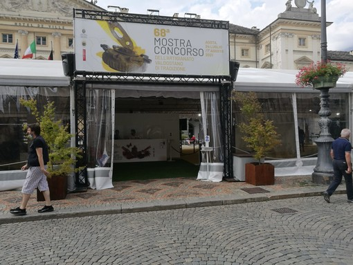 In sicurezza aperte le visite alla 68esima Mostra-Concorso dell'artigianato valdostano