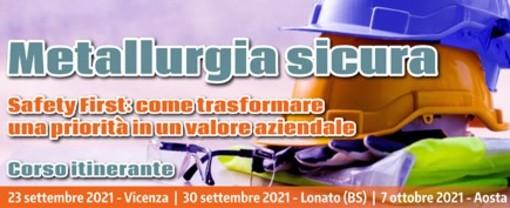 Ad Aosta con la Cas il seminario sulla 'Metallurgia sicura'