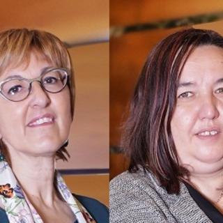 Chiara Minelli ed Erika Guichardaz