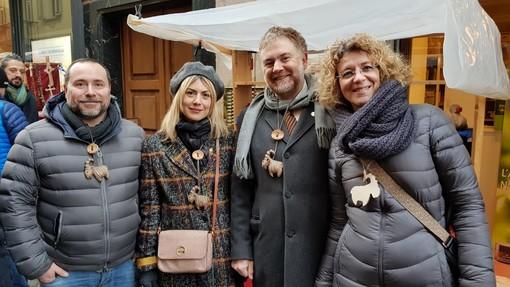 I Consglieri regionali 5 stelle alla Foire