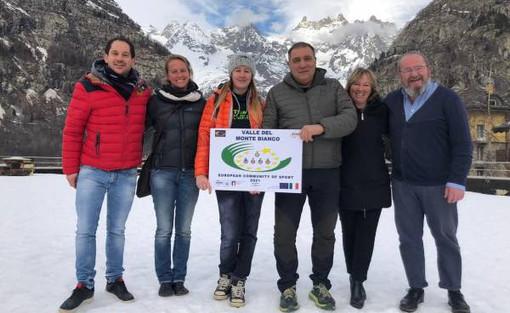 Al lavoro per la Comunità europea dello Sport 2021 Valle del Monte Bianco