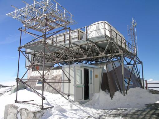 Il laboratorio del Plateau Rosa (detto anche Testa Grigia)