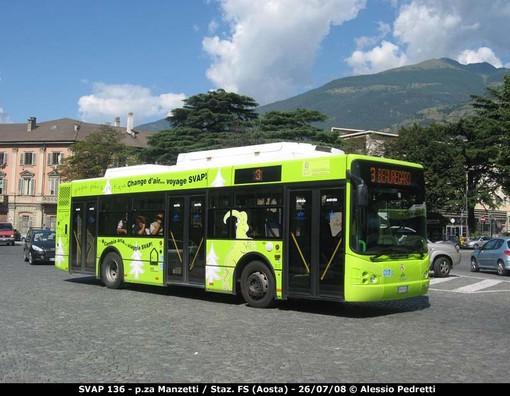 Aosta: navette gratis da parcheggi periferia città