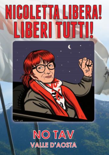 Dai No Tav della Valle d'Aosta solidarietà a Nicoletta Dosio