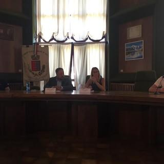 Da sn Andrea Bernagozzi, Jean-Marc Christille, Elena Boschini e Camillo Rosset