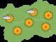 Il phoen spinge il caldo ma per domenica possibili temporali