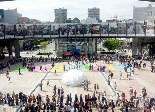 Stand Vallée d'Aoste à Open Days Bruxelles