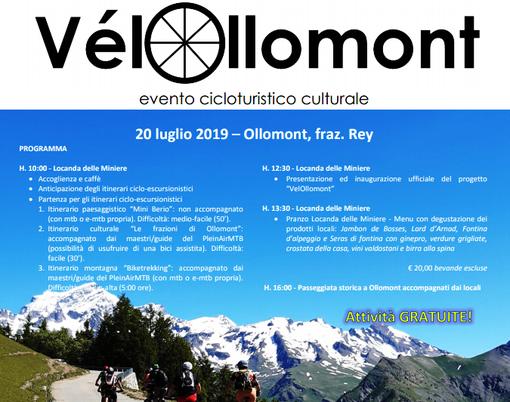VélOllomont porta alla scoperta del comune della Valpelline in bicicletta