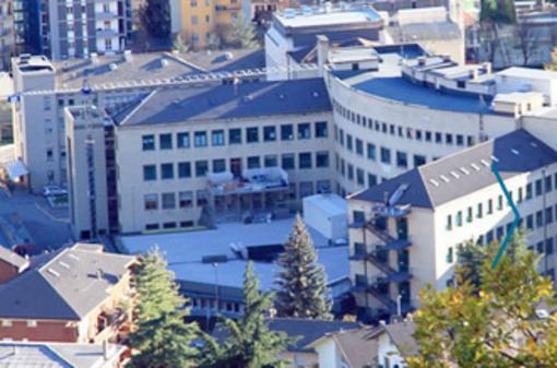 L'ospedale Parini di Aosta