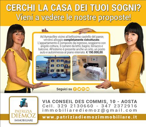 CASA SUBITO IN VALLE D'AOSTA: Alloggio con 3 camere ad Aymavilles, fr. Venoir
