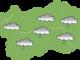 Piogge e temporali nel fine settimana