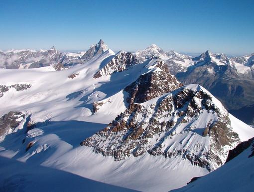 Alpinista 17enne muore nel massiccio del Rosa
