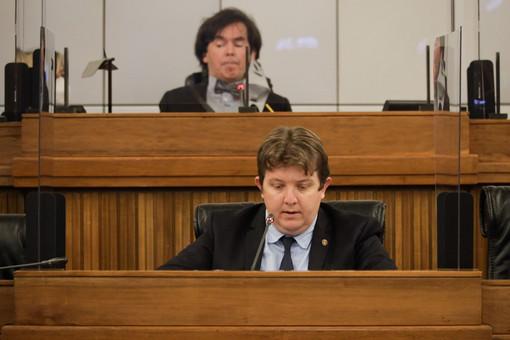 I Presidente di Consiglio e Giunta regionale Alberto Bertin ed Erik Lavevaz