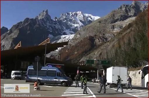 Cittadino Albanese arrestato al Traforo del Monte Bianco