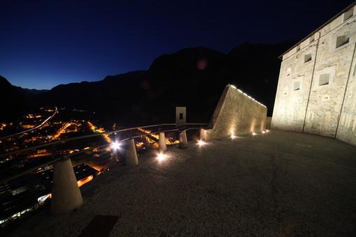 La pedonale al Forte di Bard (foto Enrico Romanzi)