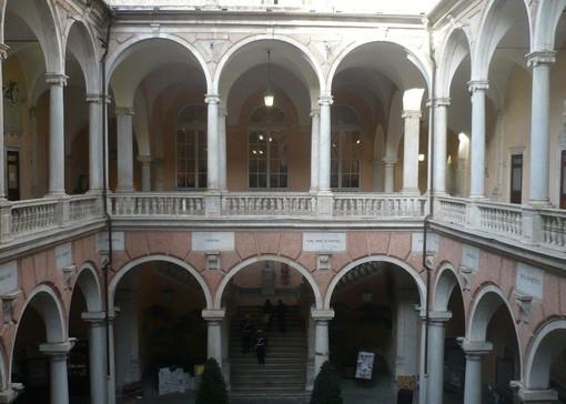 Il Palazzo Tursi di Genova teatro del conferenza Genova, Ucraina, Europa. (foto tratta dal sito www.cittadigenova.it)