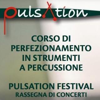 Al via la rassegna di concerti del festival degli strumenti a percussione
