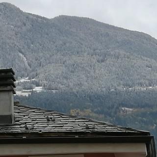 In Valle montagne innevate dai mille metri di quota