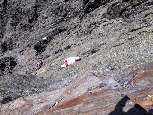 Il parapendista caduto sulla Cresta del Brouillard