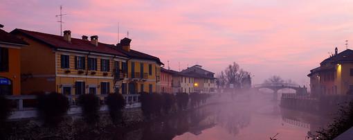 Uno scorcio del Naviglio di Pavia