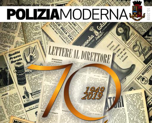70° Anniversario della rivista Poliziamoderna