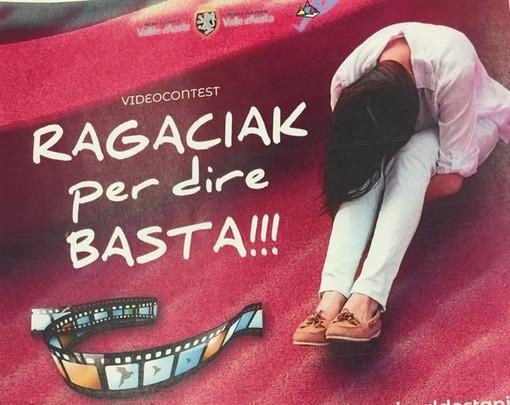 Approvato in Giunta il progetto del videocontest 'RAGACIAK… per dire BASTA!'